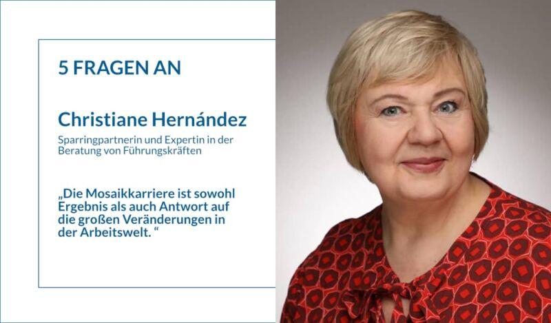 Karriereberatung und Mosaikkarrieren: 5 Fragen an Christiane Hernández